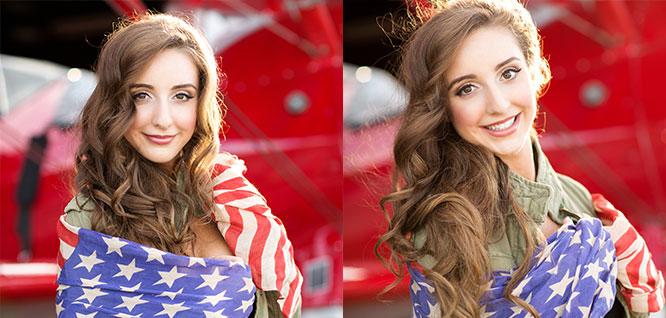 Model Ashley L